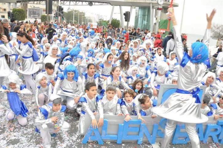 Limassol children's carnival parade postponed because of rain