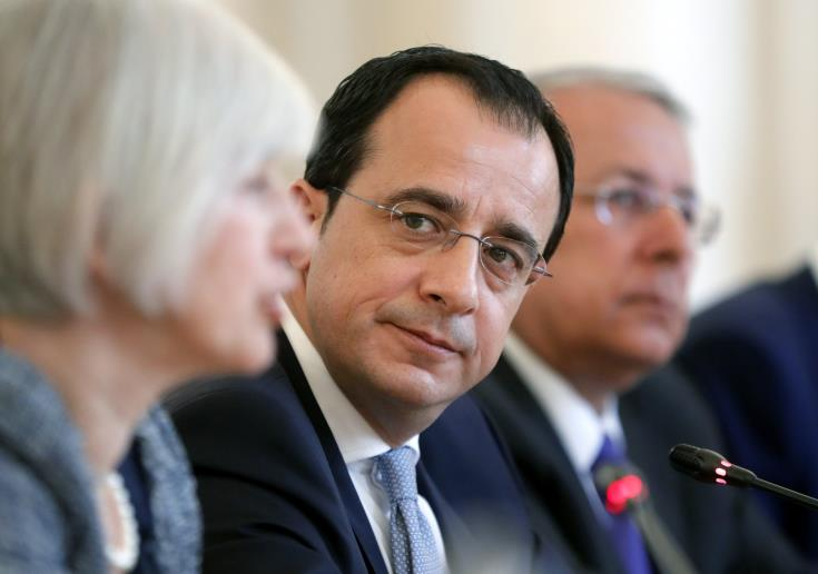 Cypriot and French Foreign Ministers hold meeting in Brussels