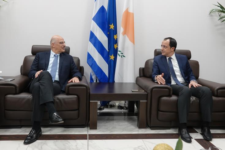 Cypriot FM visits Greece on Monday
