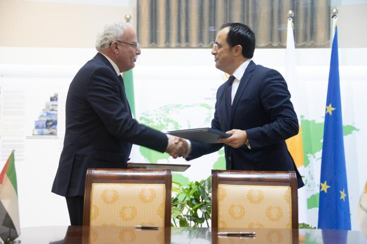 FMs of Cyprus and Palestine sign a Protocol on Political Consultations