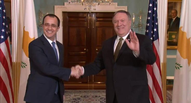 Cyprus Foreign Minister to meet US Secretary of State in Washington