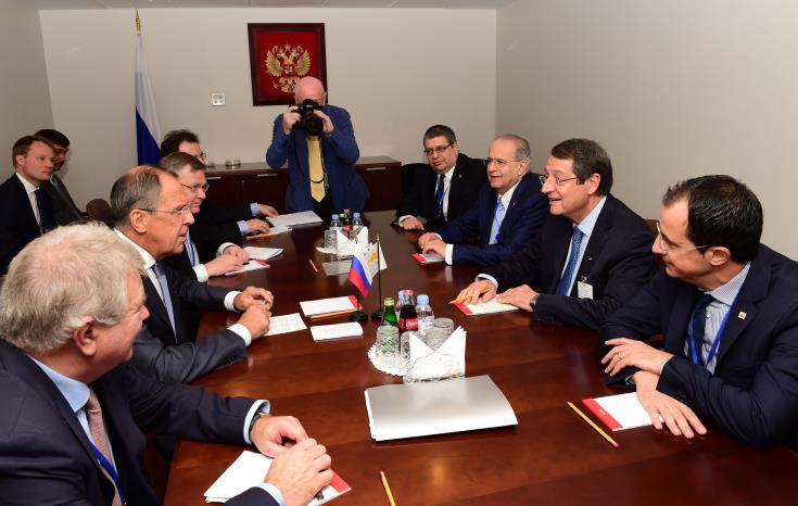 Cyprus FM contacts Russian counterpart