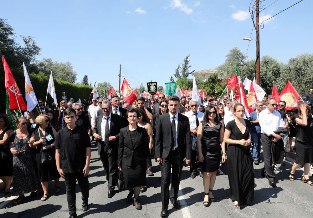 Cyprus bids farewell to former President Demetris Christofias