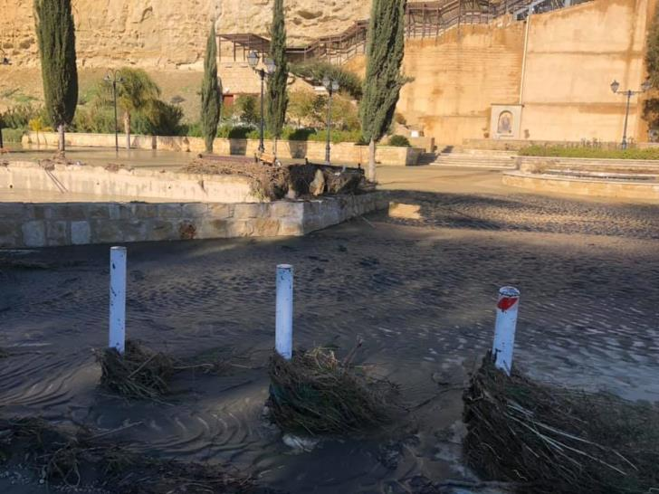 Flooding closes Panagia Chrysospiliotissa church (photos & video)