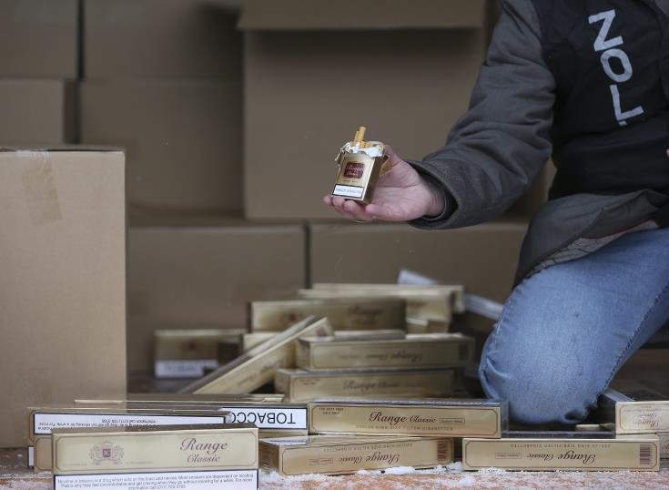 Man fined €1400 for duty free cigarettes