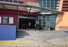 Explosion at K Cineplex Strovolos this morning (photos)