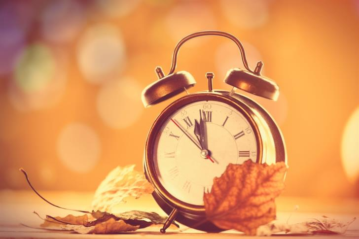 Summer time ends on October 28