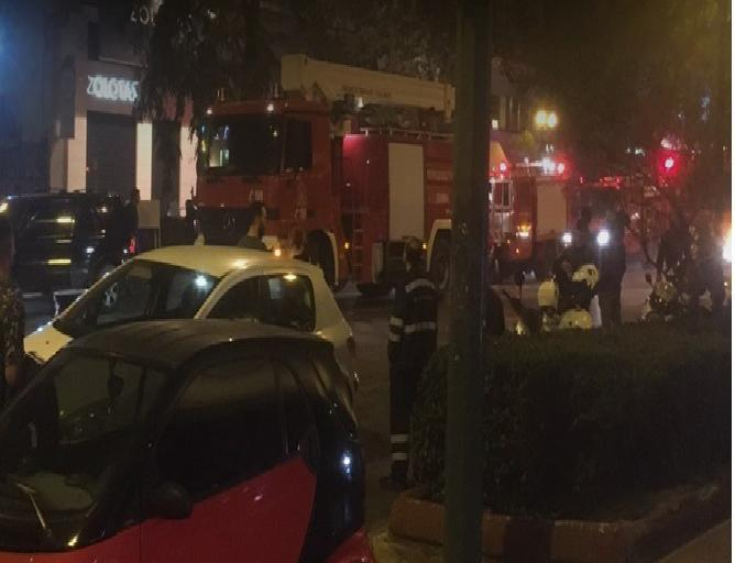 Fire breaks out at popular night club in Athens