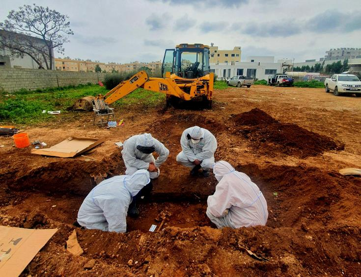 CMP recovers remains of one person in Famagusta