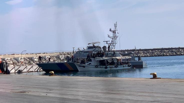87 Syrians brought to shore at Larnaca port
