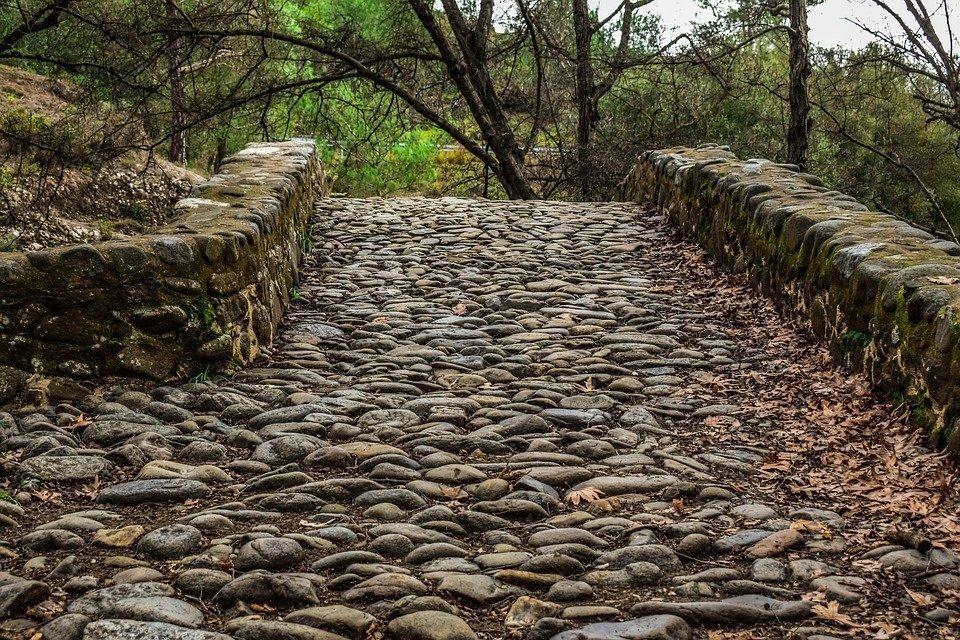 Cobblestone, Cobbled Road, Stone, Pathway, Bridge