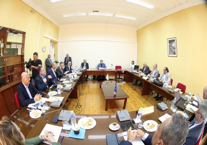 Council of party leaders reject Akinci's proposal for joint gas committee