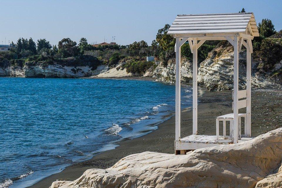 Cove, Beach, Rock, White, Cliff, Geology, Scenery