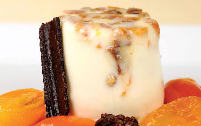 Cream with honey