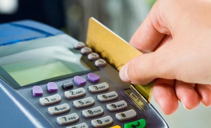 Credit card use up 16% in April