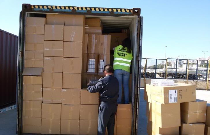 Cyprus Customs Department receives billions