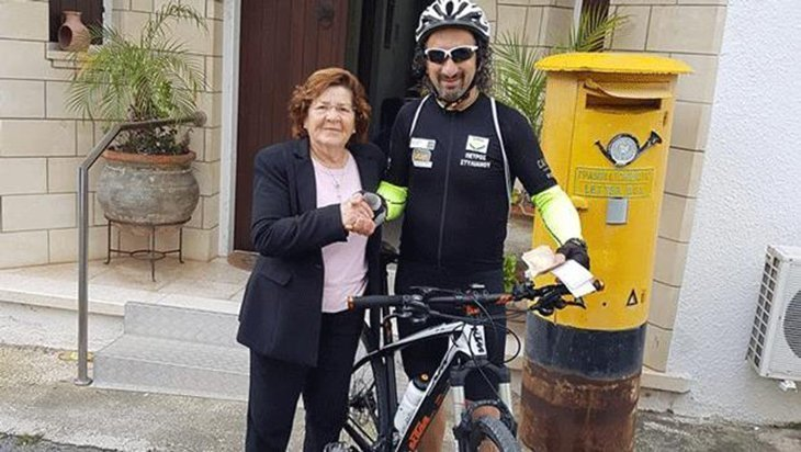 Cypriot to cycle across Europe to help cancer patients in Paphos