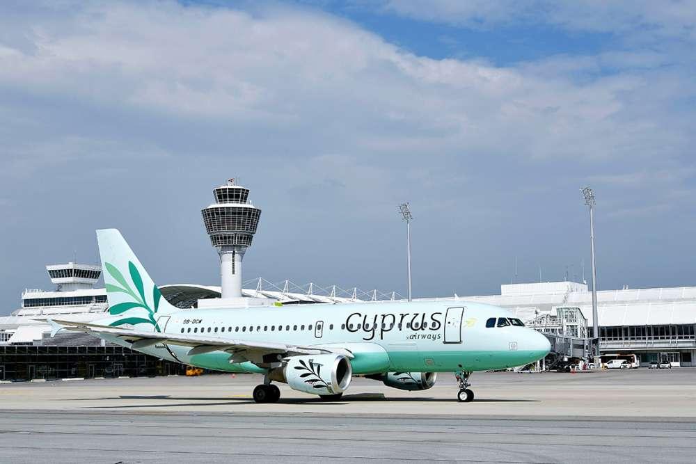 Cyprus Airways inaugural flights from Larnaca to Munich and Stuttgart
