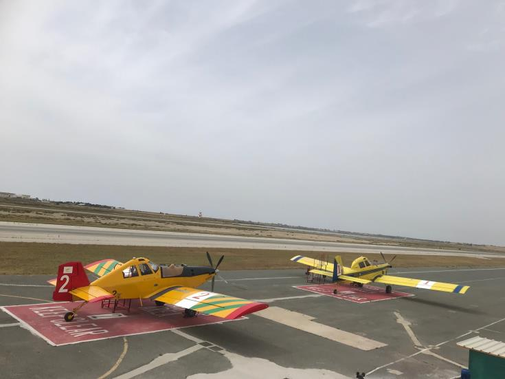 Cyprus firefighting aircraft help tackle Israel wildfires