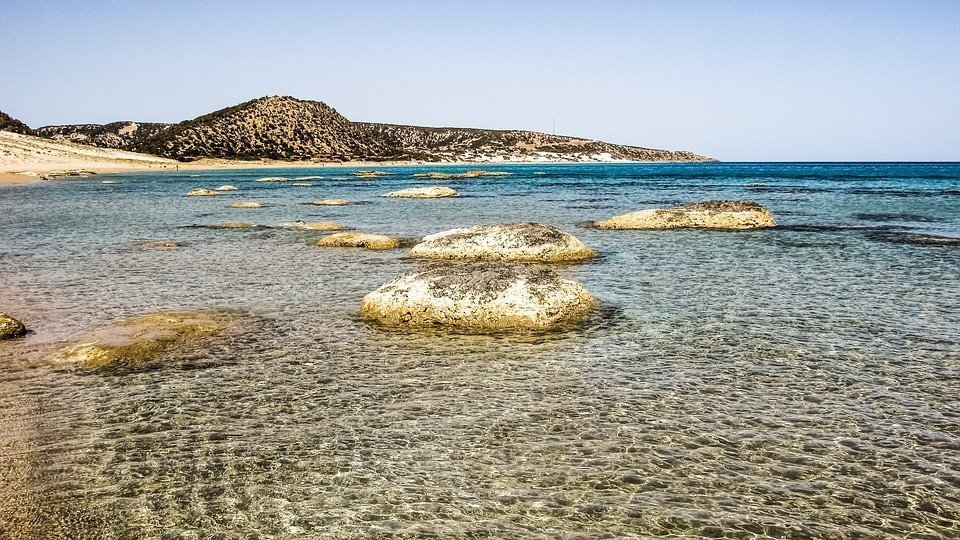 Cyprus, Karpasia, Golden Beach, Blue, Coast, Scenic