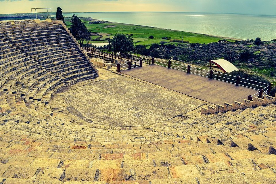 Cyprus, Kourion, Ancient Theatre, Greco-Roman, Site