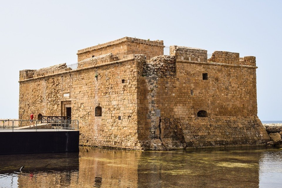Paphos Castle: medieval beauty by the sea