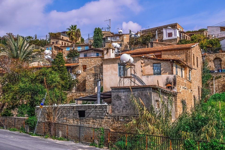 Cyprus, Tochni, Architecture, Traditional, Old, House