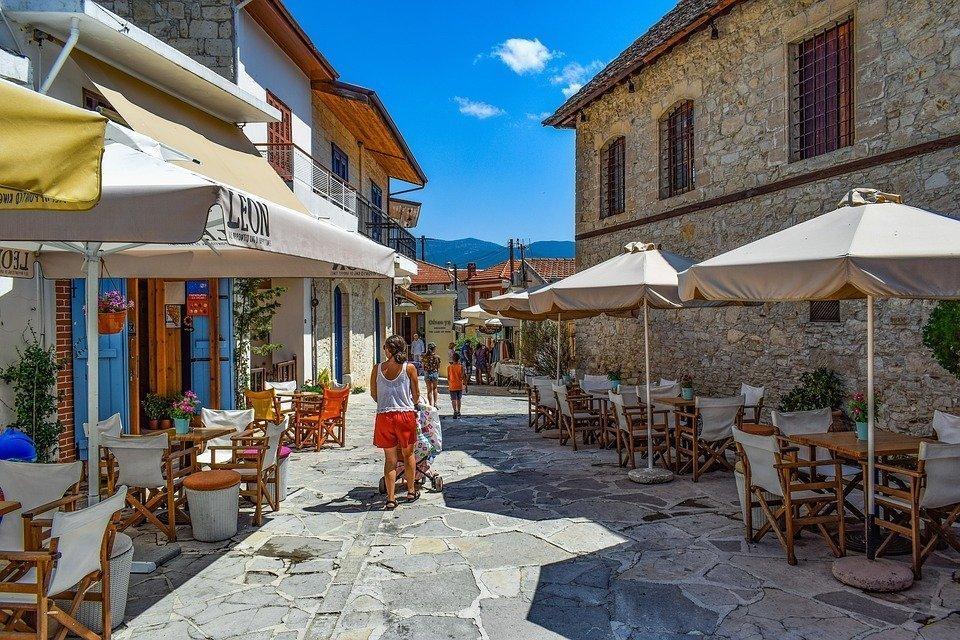 Cyprus, Omodos, Architecture, Traditional, Village
