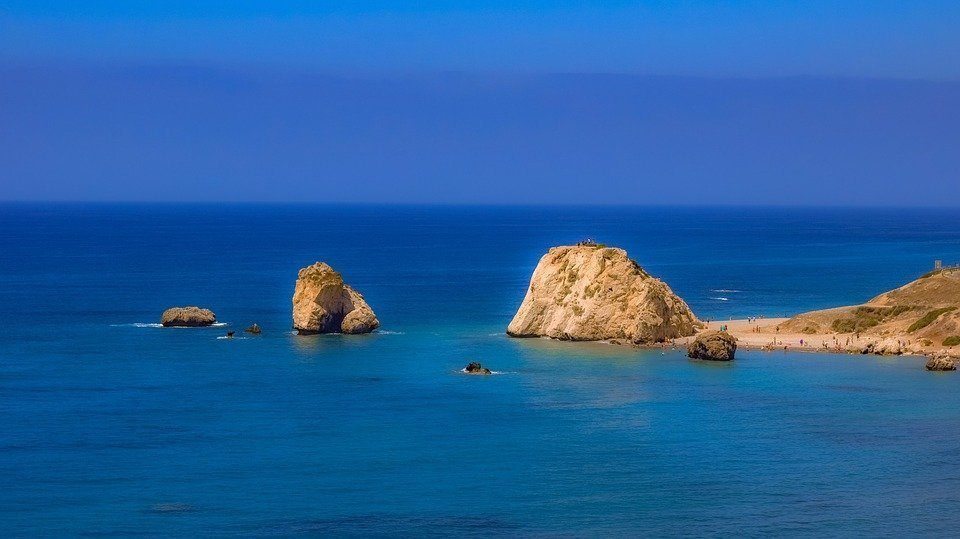 Aphrodite's rock: place where the legend was born