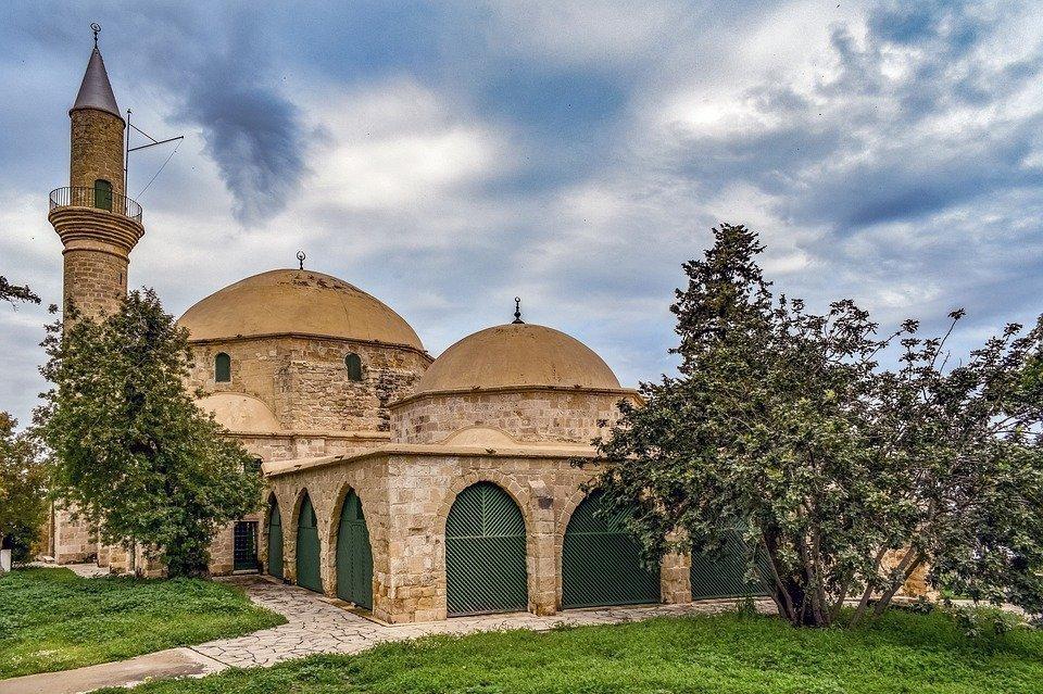 Cyprus, Larnaca, Hala Sultan Tekke, Mosque, Ottoman