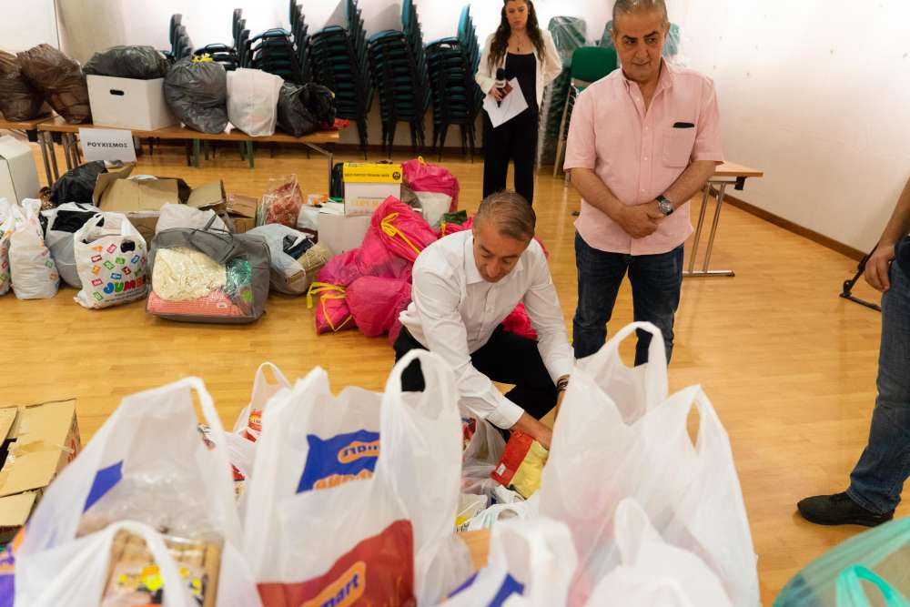 1000 cartons of aid from Cyprus to be delivered on Saturday