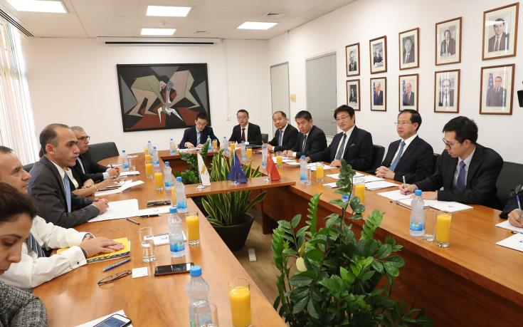 Cyprus and China to hold inter-governmental conference to promote trade relations