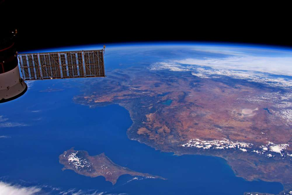 US astronaut 'captures' Cyprus from space