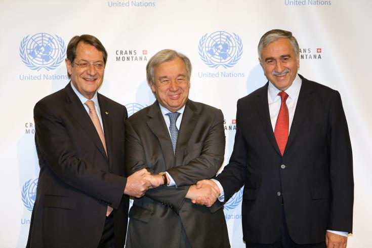 Nicosia would be open to UN SG – Anastasiades – Akinci meeting