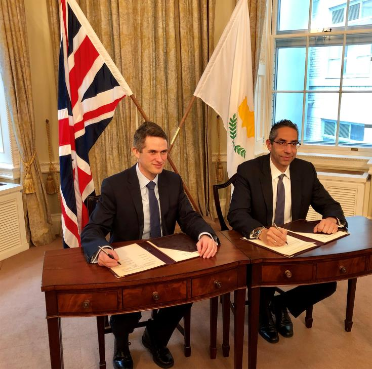 Cyprus and UK enhance defence cooperation with new memorandum