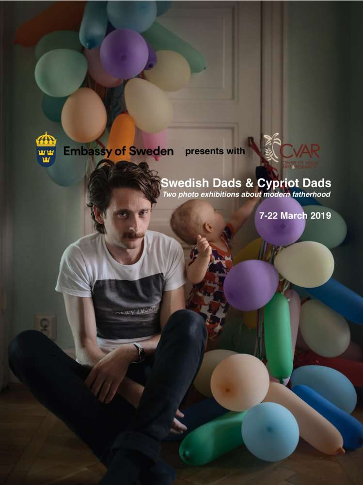 Photo exhibition: Swedish dads and Cypriot dads