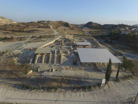 Work to create archaeological park at Idalion underway