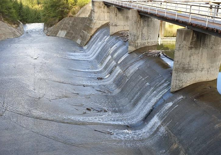 Pomos dam the first to overflow in Cyprus (photos)