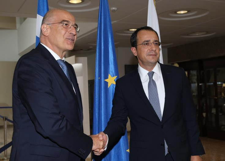 Greek FM expected in Cyprus late Sunday after contacts in Libya and Egypt