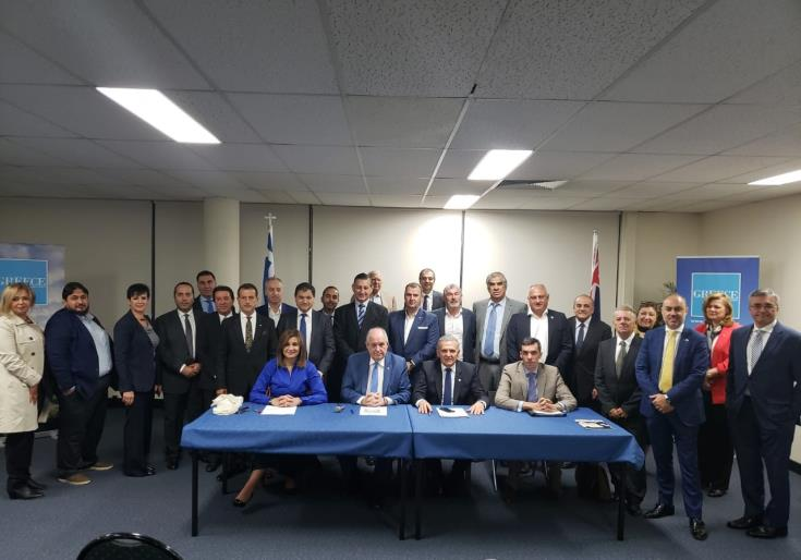 Diaspora Chambers in Australia initiative to promote trade Cyprus