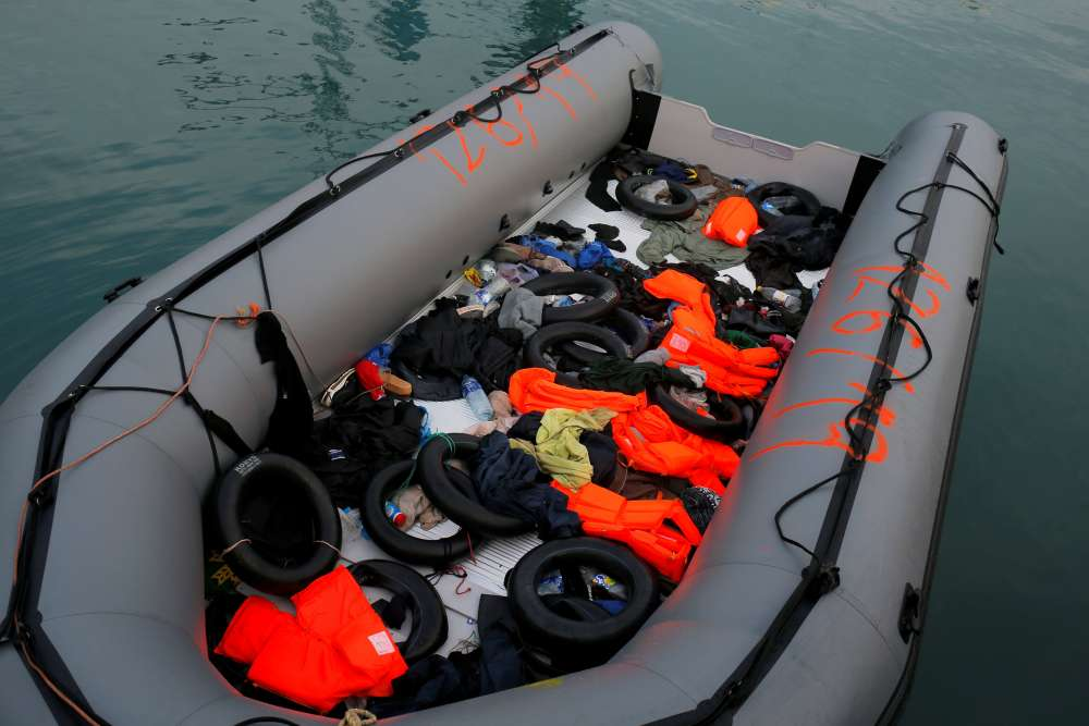 At least three migrants dead after dinghy sinks off Libyan coast