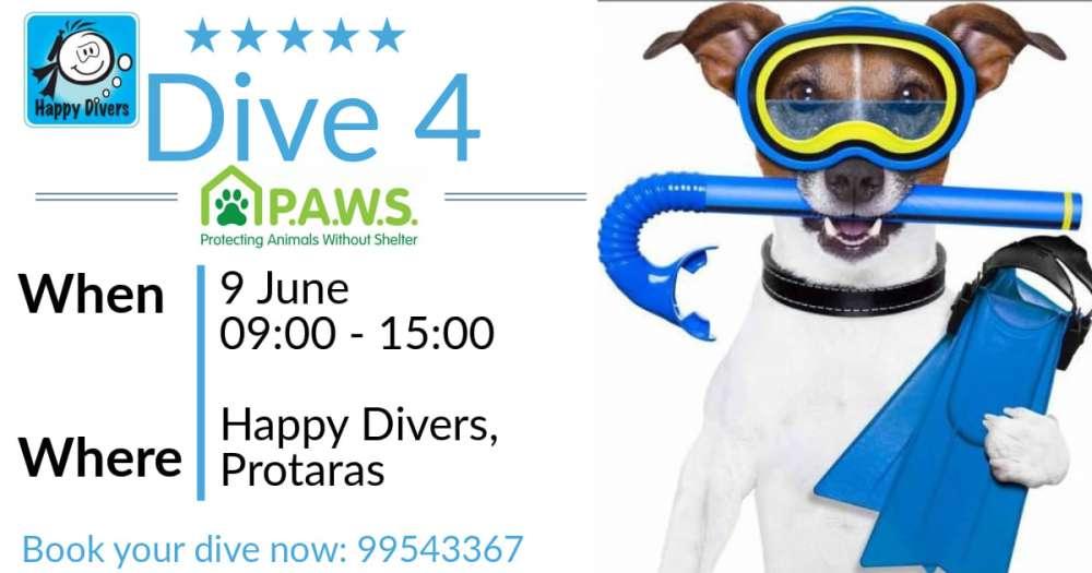 Dive 4 P.A.W.S.
