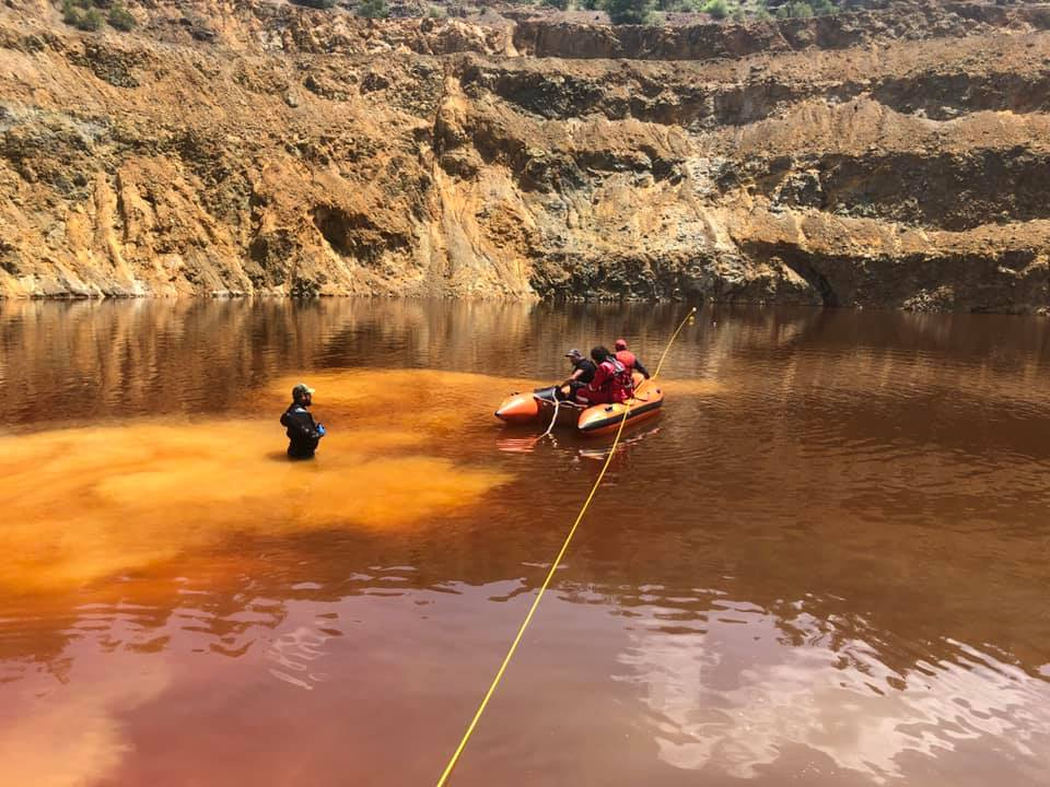 Mitsero murders: The divers braving the toxic lake to find the victims (photos)