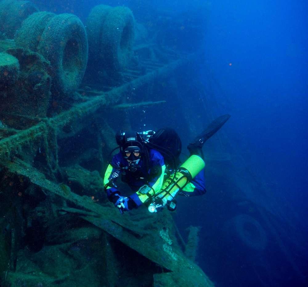 Diving in Larnaca