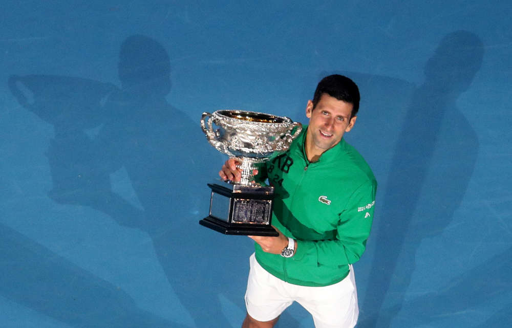 Djokovic wins record-extending eighth Australian Open