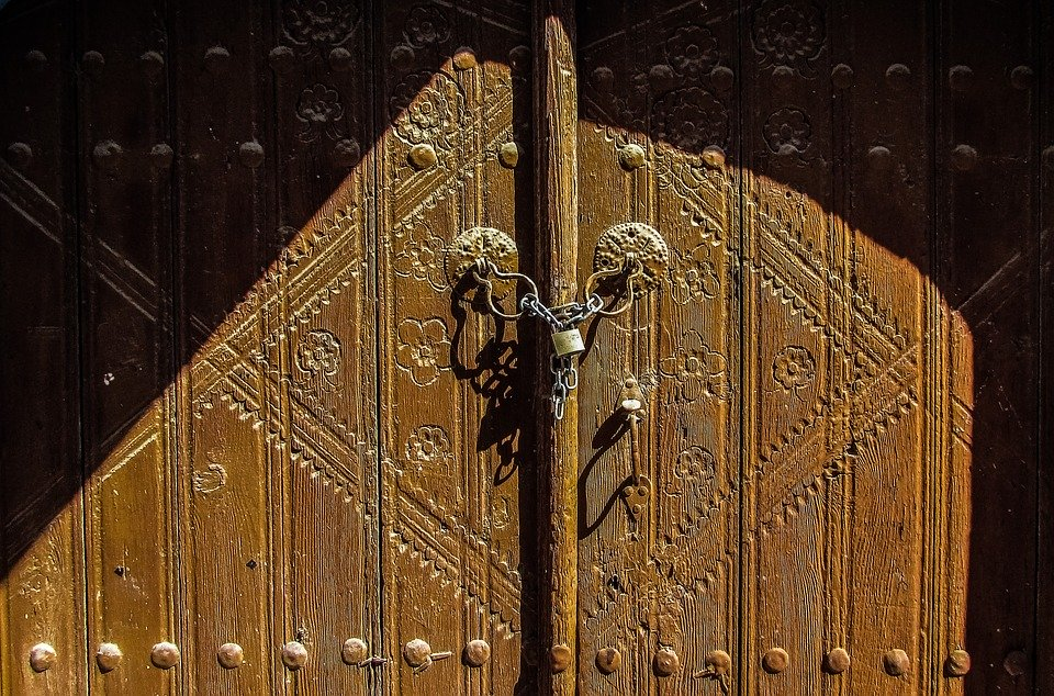 Door, Wooden, House, Decoration, Traditional