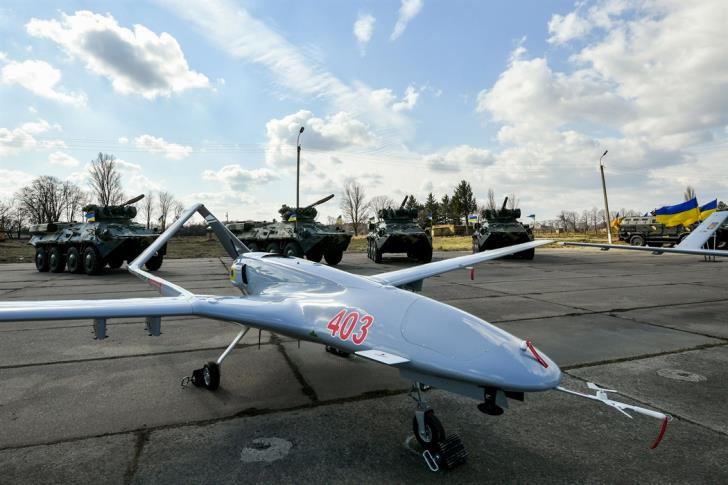 Turkish drones escorting drill ships to fly from Lefkoniko airport in occupied north Cyprus - report