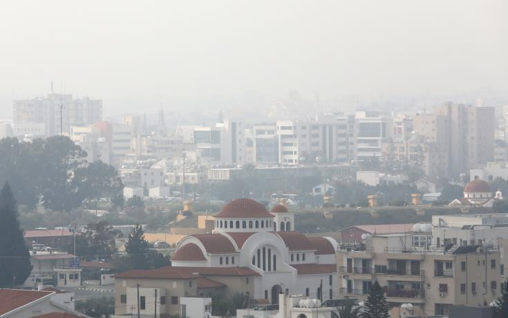 Labour Ministry issues advice over increased dust in atmosphere