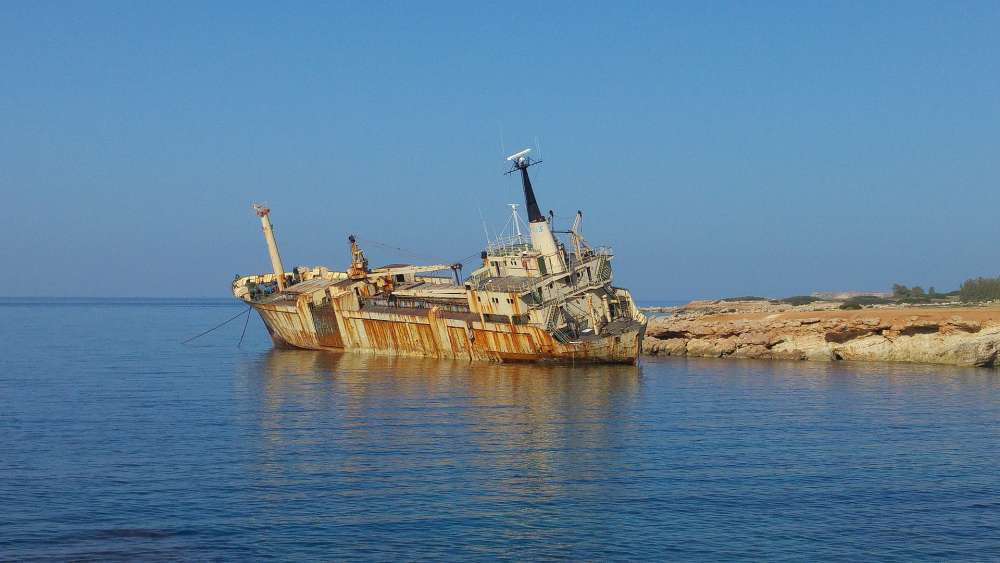One of Europe's most famous shipwrecks located in Peyia (pictures)