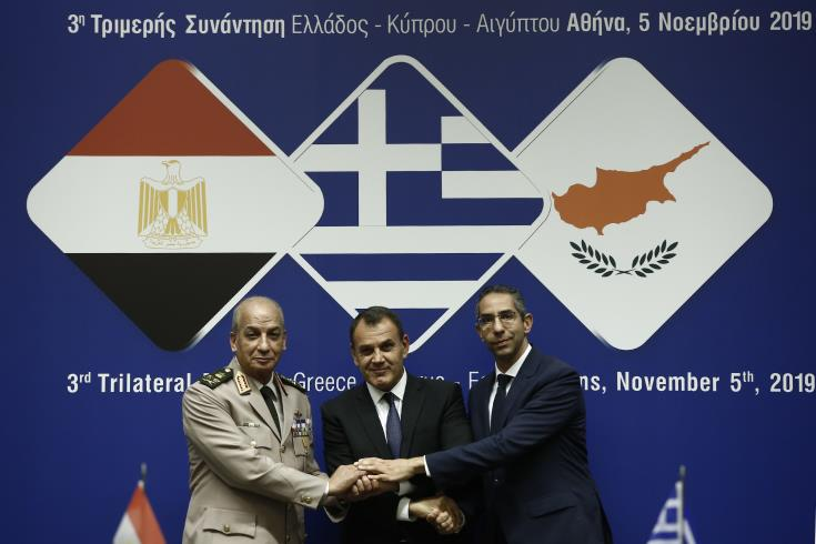 Greece and Egypt firmly support Cyprus
